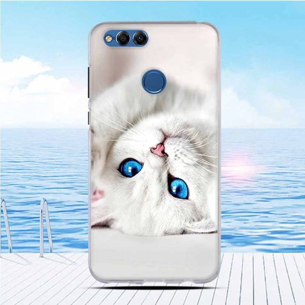 Cat cell phone case For Huawei Honor 7X