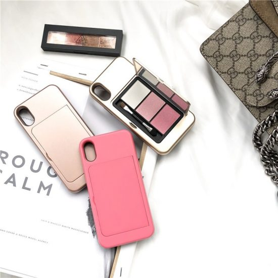 Makeup iphone case with mirror