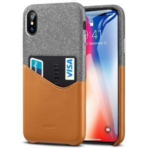 Premium Leather iPhone Case Wallet Pocket