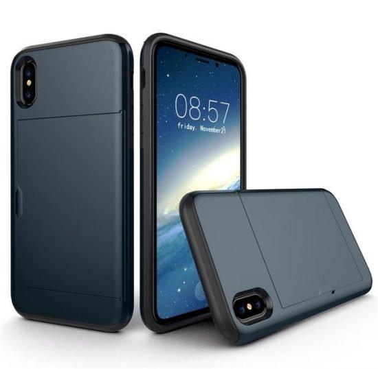 Slide Wallet Case For Iphone X