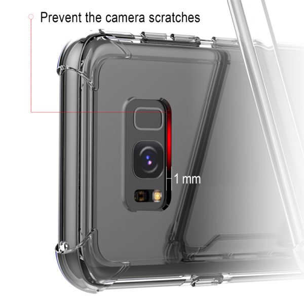 Slim Transparent phone case for samsung S8