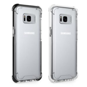 Slim Transparent phone case for samsung S8 Plus