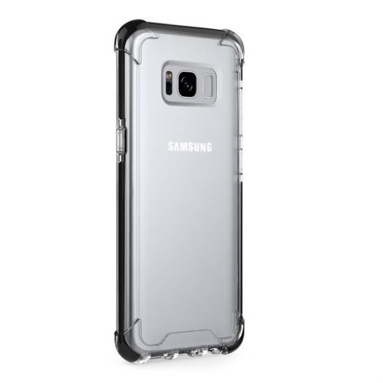 Transparent phone case for samsung S8
