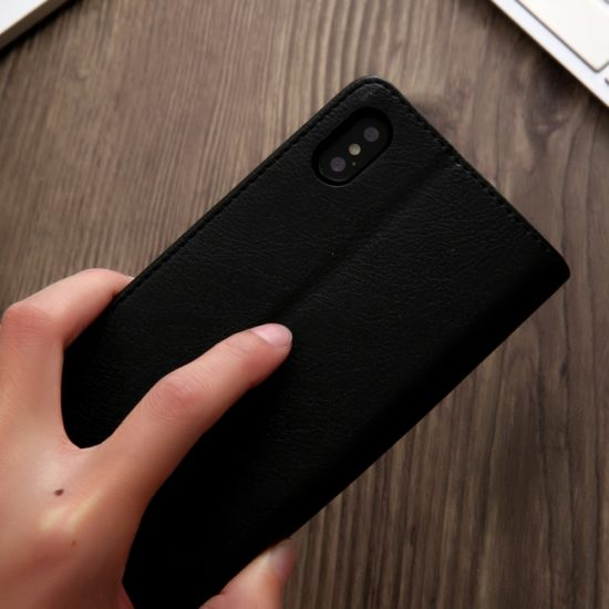 Iphone X Card Holder Leather Case