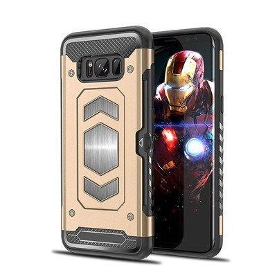 Gold heavy duty magnetic Case For Samsung Galaxy Note 8