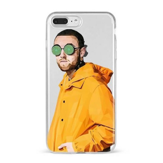 Mac Miller Clear Phone Case