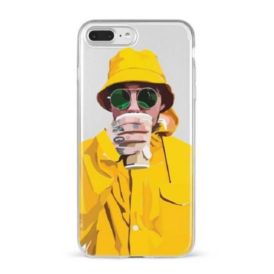 Mac Miller With Yellow Jacket Phone Case