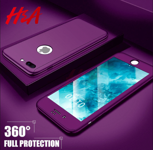 360 degree full body protection case for iPhone 6 plus