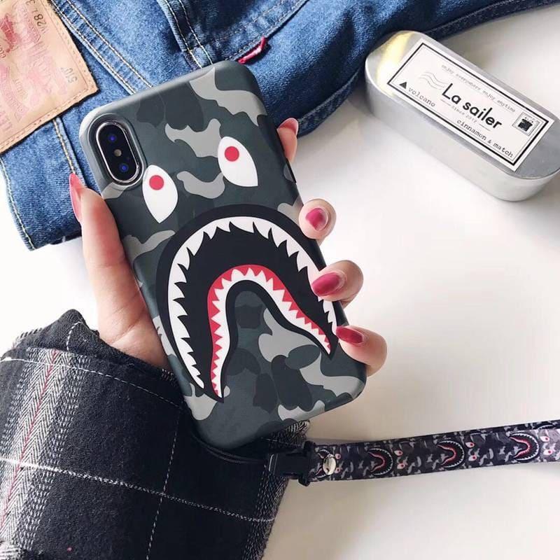 Bape shark phone case