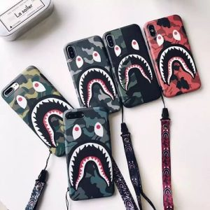 Bape shark phone case