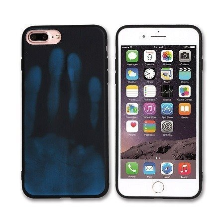 Black Optimal thermal sensor protection phone case for iPhone Xs Max
