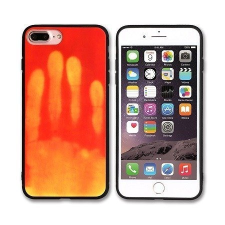 Orange Optimal thermal sensor protection phone case for iPhone XR - X