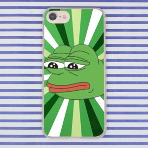 PEPE frog phone case for iPhone XR XS Max X 8 7 6 6S Plus 5 5S SE