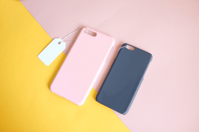 pink store phone cases