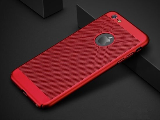 red Heat Dissipation Phone Case for iPhone 5S