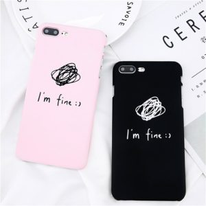 im fine phone case