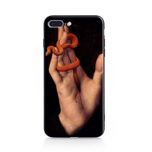 Hand snake phone case