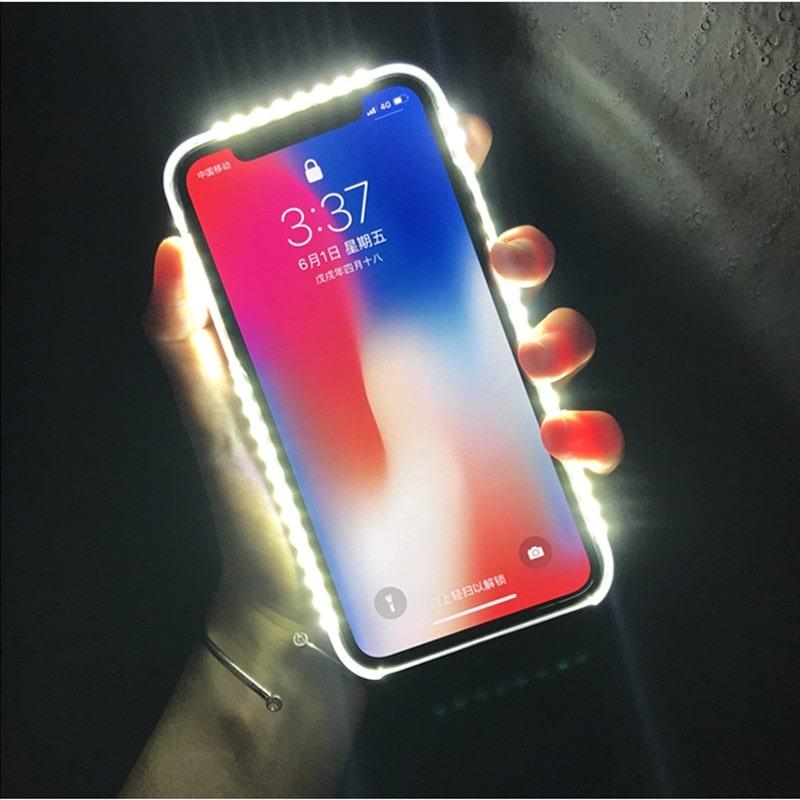 Led Light Selfie iPhone case