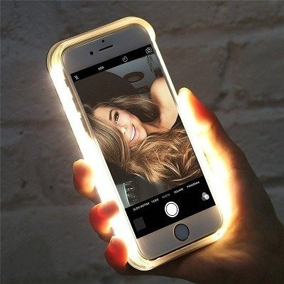 Light phone case