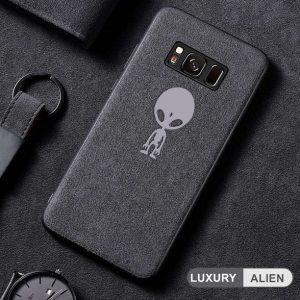 Alien alcantara samsung case