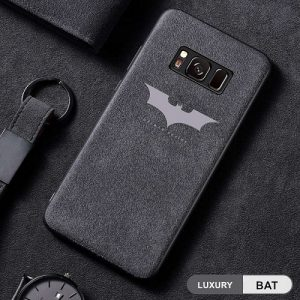 Batman leather samsung case