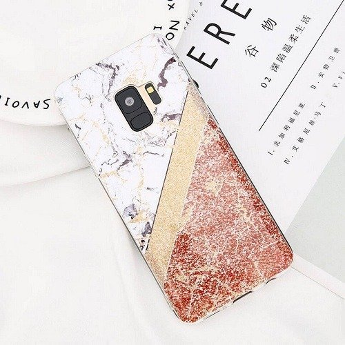 Colorful Splice Marble iphone Case