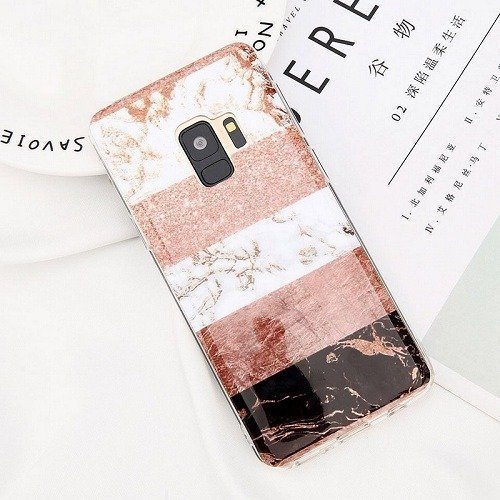 Colorful Splice Marble samsung Case
