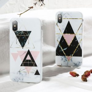 Geometry Marble Samsung Galaxy Case