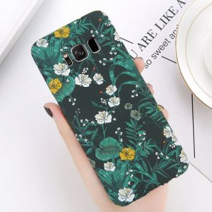 Green Leaves Phone Case s8 s9