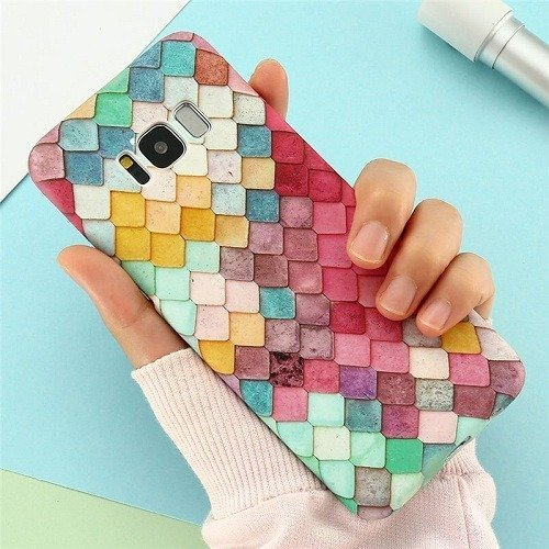 Luminous Mermaid Scales Samsung Case