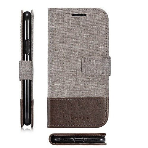 Samsung Galaxy S7 S7 Edge Canvas Wallet Case