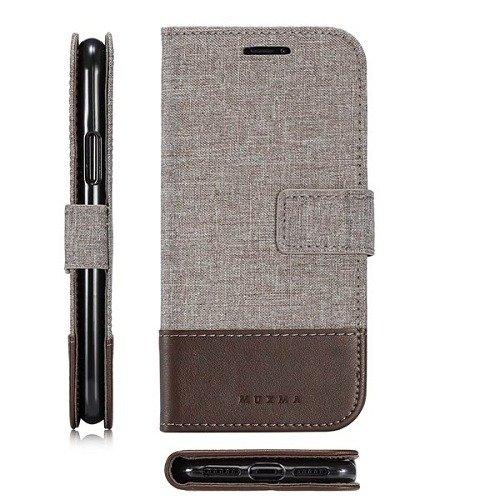 Samsung Galaxy S7 S7 Edge Canvas Wallet Case