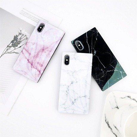 Square Marble iPhone Case