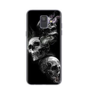 Three Brothers Skull Samsung Case
