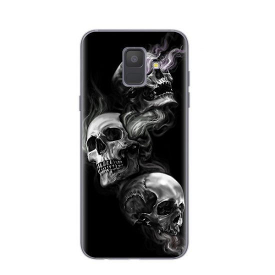 Three Brothers Skull Samsung Case