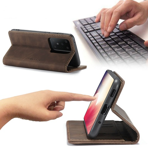 Magnet Wallet Leather Phone Case for Samsung S20 Ultra