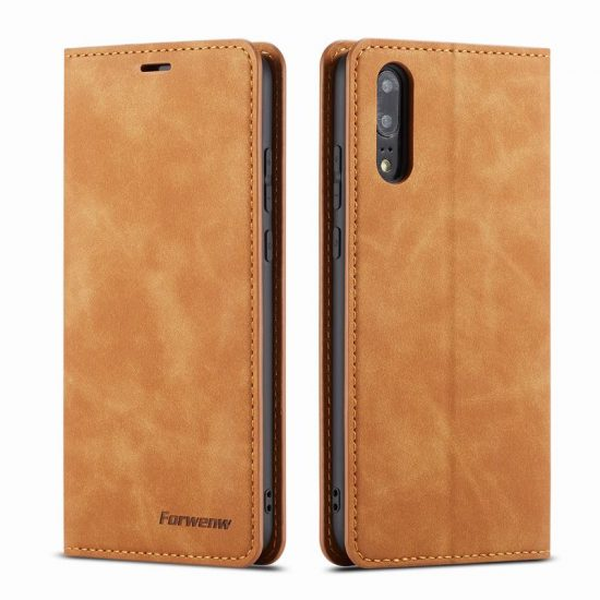 Magnetic Flip Wallet Leather Huawei P20 LITE PROCase