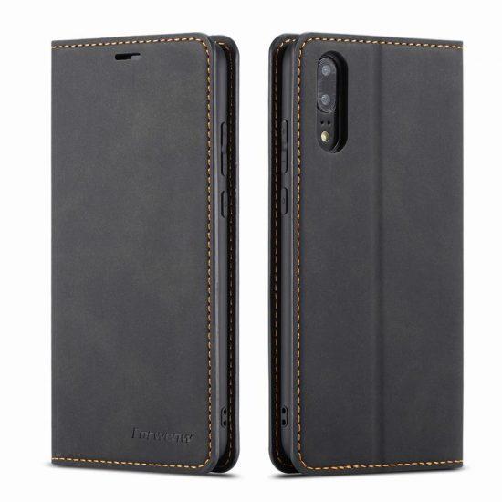 Magnetic Flip Wallet Leather Huawei Case