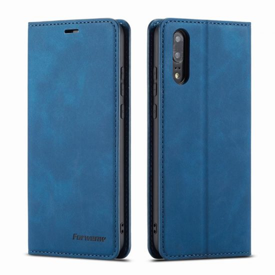Magnetic Flip Wallet Leather Huawei P20 Case