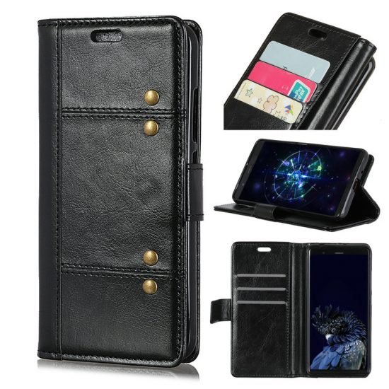 Huawei P Smart 2019 Protective Flip Wallet Cases