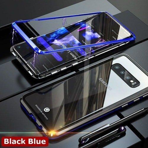 Magnetic Adsorption Metal flip Samsung Galaxy Case