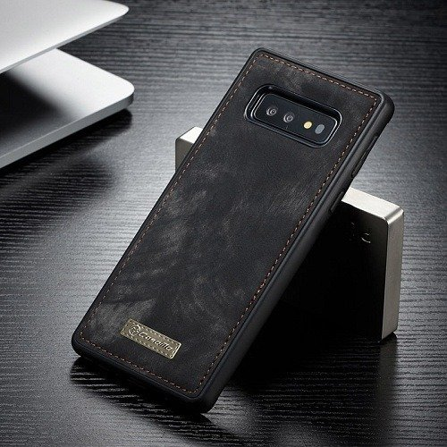 Vintage Leather Magnetic Samsung s10 Case