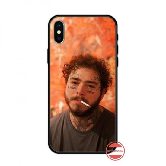 Post Malone With Cigarette iPhone Case