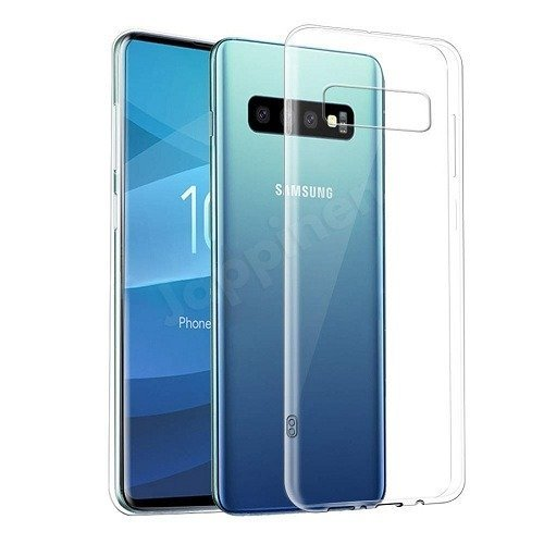 Samsung Galaxy S10 S10 Plus Clear Transparent Silicone Case