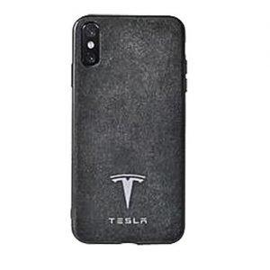 Tesla Alcantara leather Phone Case