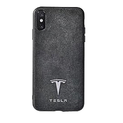 Tesla Alcantara leather Phone Case