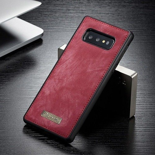 Vintage Leather Magnetic Samsung s10 Plus Case