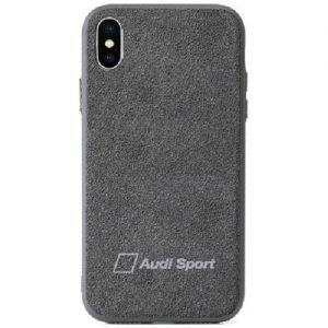 audi alcantara phone case