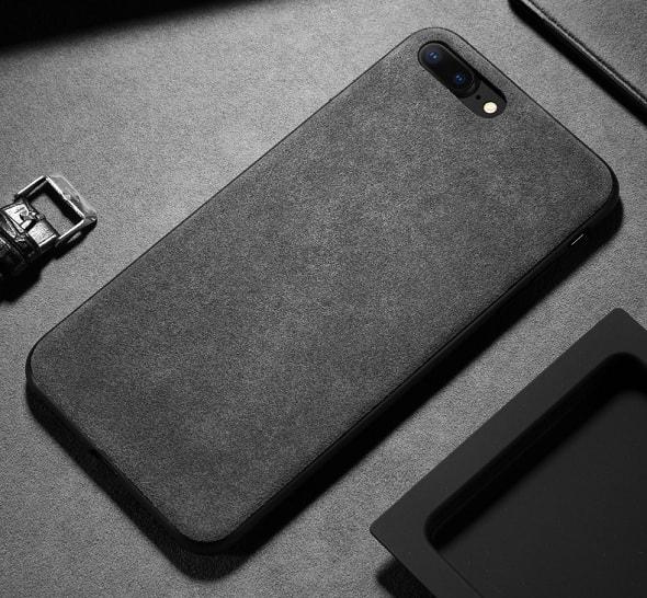 Cheap phone case alcantara