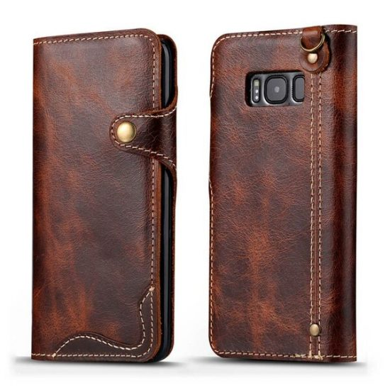 Samsung Galaxy leather case